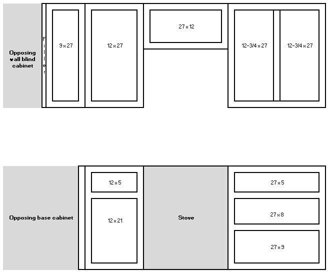 Standard Drawer Base Cabinet Width | memsaheb.net